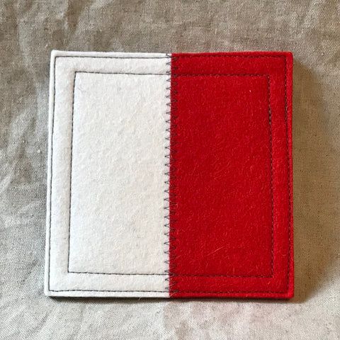 International Maritime Signal Flag Coaster H