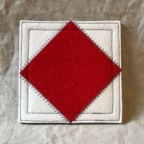 International Maritime Signal Flag Coaster F