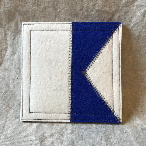 International Maritime Signal Flag Coaster A
