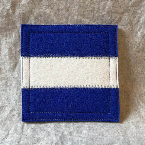 International Maritime Signal Flag Coaster J
