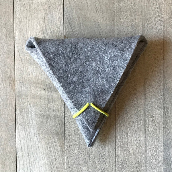 Wool Felt Earbud Case