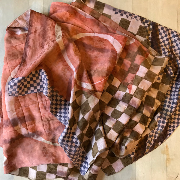 Silk Sari Scarf or Wrap