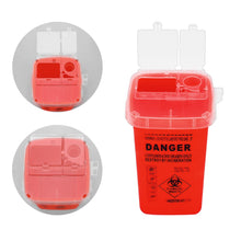Load image into Gallery viewer, 1L Tattoo Supplies Container for Disposable Sharps Medical Needle Tips Waste Box Tattoo Accessories Buckets Collections Barrels