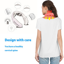 Load image into Gallery viewer, Smart Electric Neck and Shoulder Massager Low Frequency Magnetic Therapy Pulse Pain Relief Relaxation Vertebra Physiotherapy