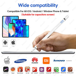 Touch Pen For Stylus Apple Pencil iPad iPhone 6 7 8 Plus X XS 11 Pro Max For Samsung Huawei Xiaomi OPPO Vivo Smartphone Tablet