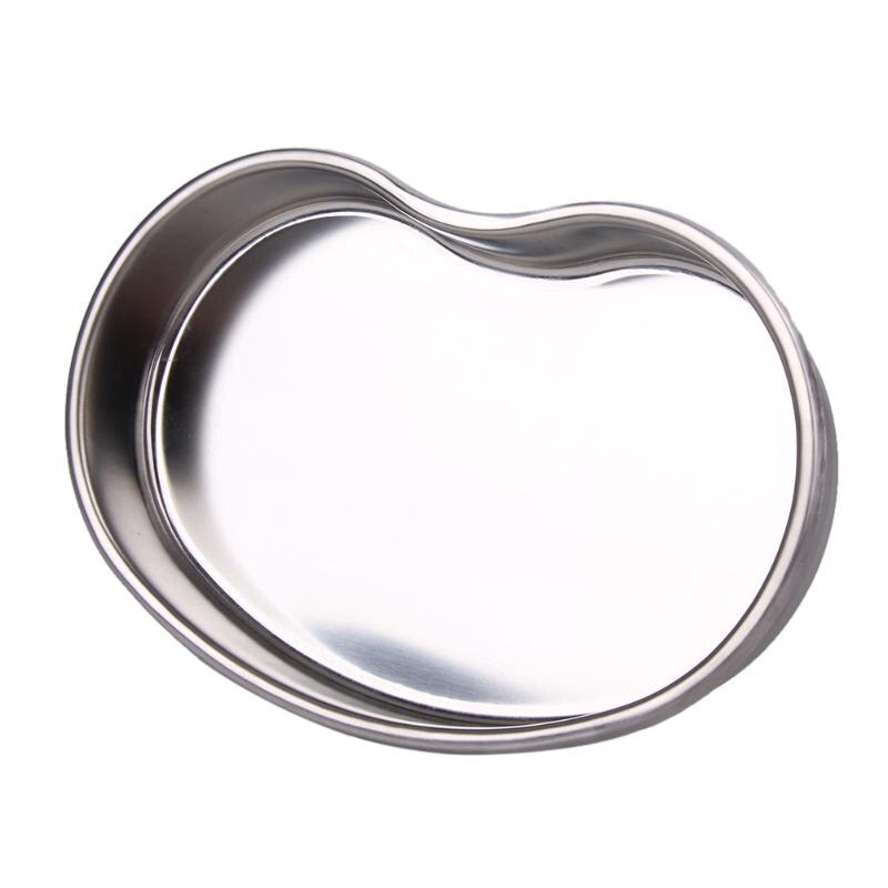 MedicalBall Cylinder Disinfecting Silver Stainless Steel Tray Medical Tools Storage Dish Nail Dental Supplies