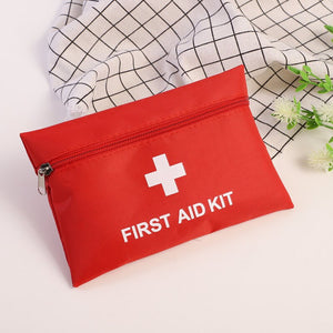 New First Aid Bag Outdoor Sports Camping Pill Bag Home mini Medical Emergency bag Survival First Aid Kit Bag
