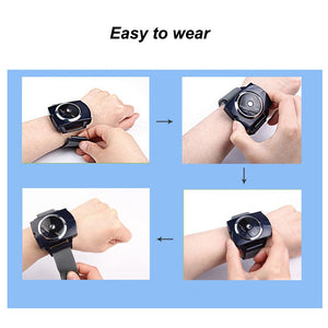 Intelligent Snore Stopper Biosensor Anti Snoring Device Infrared Ray Detects Wristband Sleeping Aid Equipment