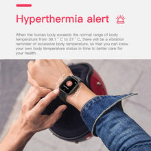 Load image into Gallery viewer, T1 Body Temperature Measure Smart Watches Men Women Heart Rate Blood Pressure Monitor Push Message Weather Forecast Smartwatch