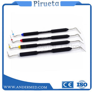New Dental Endodontic Hand Plugger Tip Endo Instrument Teeth Filling Vertical Pressurizer Root Canal Filling Presser dentist