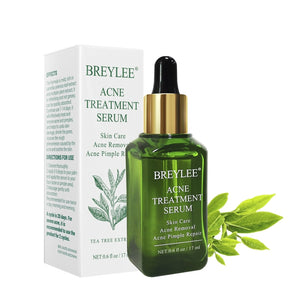BREYLEE Acne Treatment Serum Facial Essence Anti Acne Scar Removal Cream Whitening Repair Pimple Remover Skin Care TSLM2