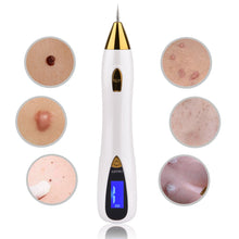 Load image into Gallery viewer, Laser Mole Tattoo Freckle Removal Pen LCD Sweep Spot Mole Removing Wart Corns Dark Spot Remover Salon Beauty Machine Skin Care