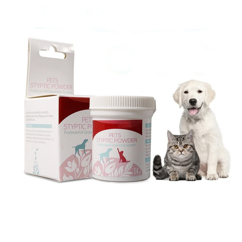 Pet Styptic Powder Dog Cats Anti Inflammation Analgesia Powder Puppy Home Profession Aids Supplies Pet Medical