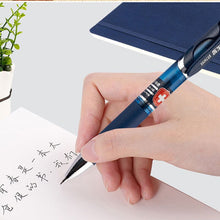 Load image into Gallery viewer, 2pcs blue don't fade for long European Standard Press type medical prescription pen Gel ink Pens Stationery Office Supplies