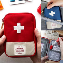 Load image into Gallery viewer, 1pcs First Aid Bag Portable traveling kit medicine kit medicine kit household first aid small medicine kit emergency kit