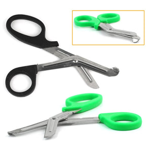 "Practical Stainless Steel Medical Nurse 6"" EMT Shears Bandage Paramedic Trauma Scissors Doctor First Aid Emergency random color"