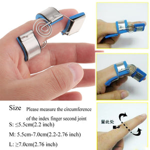 Trigger Mallet Finger Splint Support Brace Straighten Curved Bent Practice Finger Joint Orthosis