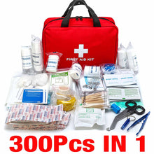 Load image into Gallery viewer, Portable 16-300Pcs Emergency Survival Set First Aid Kit for Medicines Outdoor Camping Hiking Medical Bag Emergency Handbag