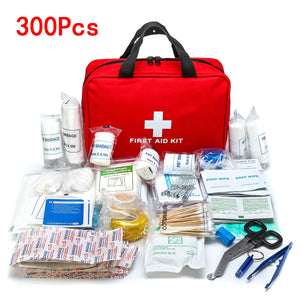 Portable 16-300Pcs Emergency Survival Set First Aid Kit for Medicines Outdoor Camping Hiking Medical Bag Emergency Handbag