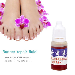 5pcs/Pack 10ml Health Liquid Disinfected Nail Fungus Treatment Nail Care Oil Products To Clean Remove Nail Onychomycosis TSLM2