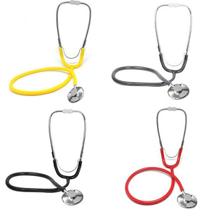 Stethoscope Aid Single Headed Stethoscope Portable Medical Auscultation Device Equipment Tool DC88
