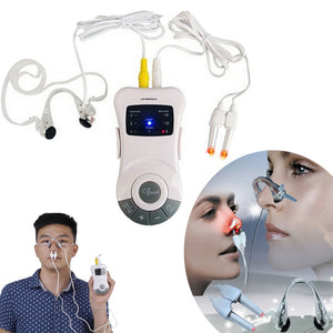 Allergy Reliever Low-frequency Laser Rhinitis SnoreStop Therapy Treatment bionase nose rhinitis Sinusitis Cure Therapy Massage