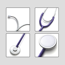 Load image into Gallery viewer, Basic Medical Stethoscope Single Head Professional Cardiology Stethoscope Doctor Student Vet Nurse Medical Equipment Device