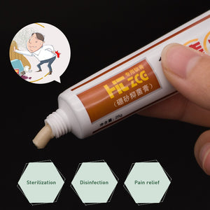 Hua Tuo Hemorrhoids Ointment Plant Herbal Musk Mixed Hemorrhoids Cream Internal External Anal Fissure Pain Relieving Patch P1002