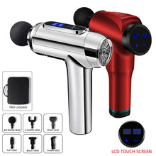 Load image into Gallery viewer, Electric Body Head Massager Impact Muscle Massage Physiotherapy Massage Gun Massager for Neck and Back Relaxer Massager Gun