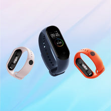 Load image into Gallery viewer, Strap For Xiaomi Mi Band 5 4 3 Silicone Wristband Bracelet Replacement For Xiaomi Band 4 MiBand 5 4 3 Wrist Color TPU Strap