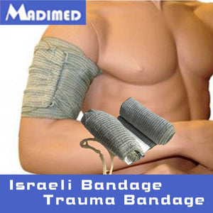 Israeli Bandage Emergency Trauma Bandage Dressing First Aid Medical Compression Bandage 6 Inches Army Dressing Israel Bandage