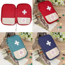 Load image into Gallery viewer, Mini First Aid Kit Empty Bag Home Emergency Survival Pouch Portable Drugs Safety Bag Small Medicine Divider Storage Organizer