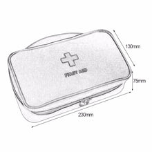 Load image into Gallery viewer, First Aid Kit For Medicines Outdoor Camping Medical Bag Survival Handbag Emergency Kits Travel Set Portable