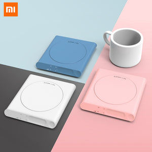 For Xiaomi Smart Home Mini Heating Coasters Heating USB Electric Tray Coffee Tea Drink Warmer 3 Levels Adjustment Constant