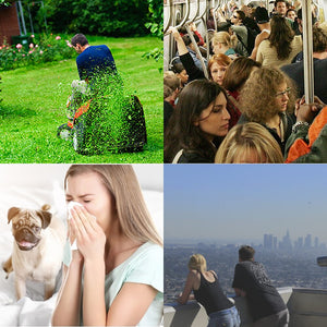 WoodyKnows Super-Defense Nasal Filters, Lessen Exposure to Airborne Allergens and Particles, Hay Fever Relief