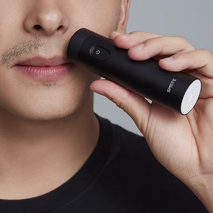 SMATE Electric Turbine Razor with Charging Indicator IPX7 Waterproof Beard Shaver Mini Comfy Clean from xiaomi youpin