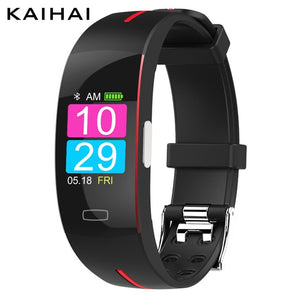 KAIHAI  ECG PPG  smart band bracelet electrocardiograph heart rate monitor blood pressure Heart rate activity tracker smartband