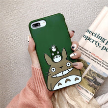 Load image into Gallery viewer, Trap Cute Totoro IPhone Case