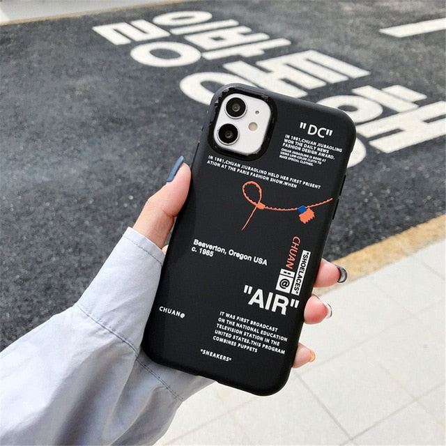 Trap Nike Off-White Matte Case
