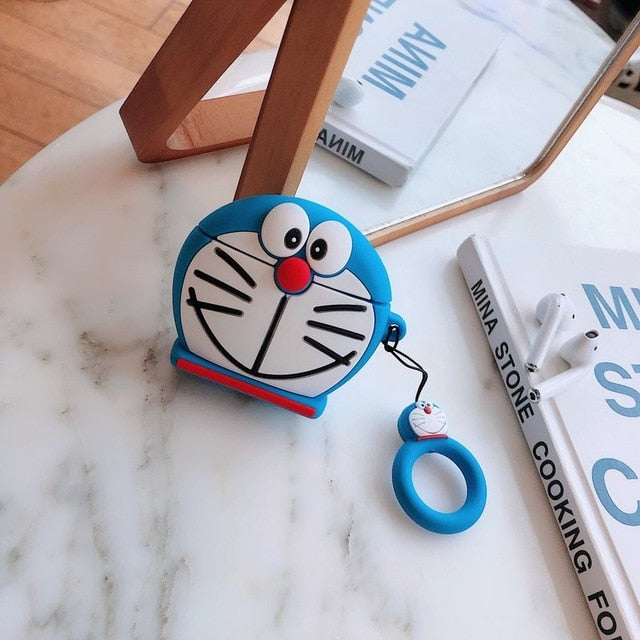 Trap Doraemon Cartoon AirPods 1&2 case