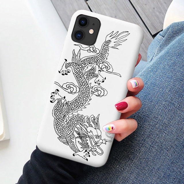 Trap Dragon IPhone Case