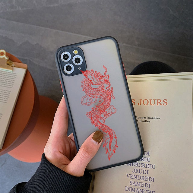Trap Black Dragon IPhone Case