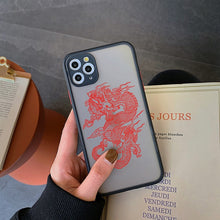 Load image into Gallery viewer, Trap Black Dragon IPhone Case
