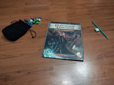 Keep on the Shadowfell & Quick-Start Rules - 4th Edition