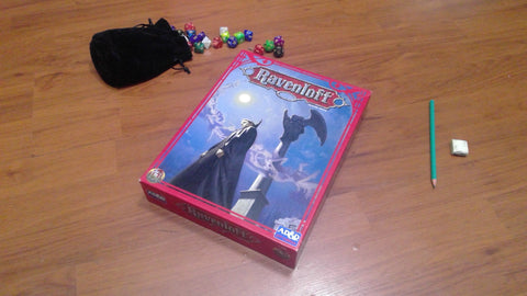 Ravenloft (Revised), boxed campaign setting 2nd Edition
