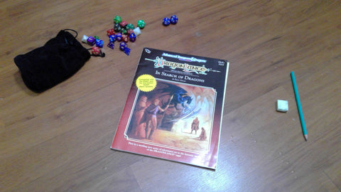 In Search of Dragons 2nd Edition Dragonlance