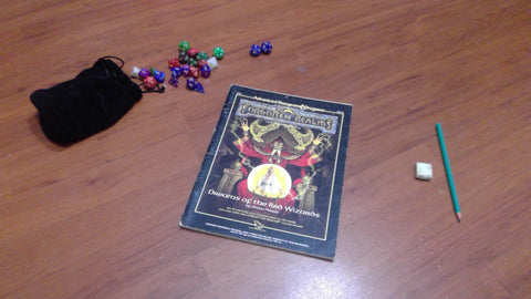 Dreams of the Red Wizards 2nd Edition Forgotten Realms