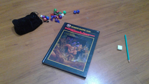 Dungeon Master Guide 2.5th Edition