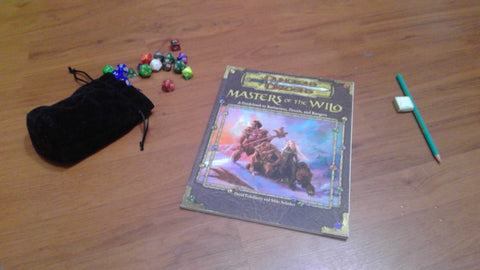 Masters of the Wild: A Guidebook to Barbarians, Druids, and Rangers 3rd Edition