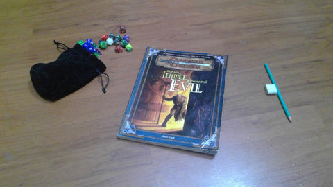 Return to the temple of elemental evil 3rd Edition
